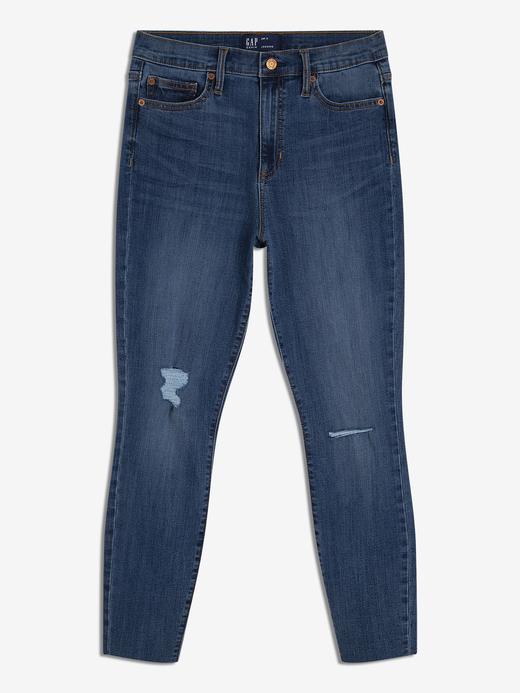 Kadın orta indigo Kadın Jegging Pantolon
