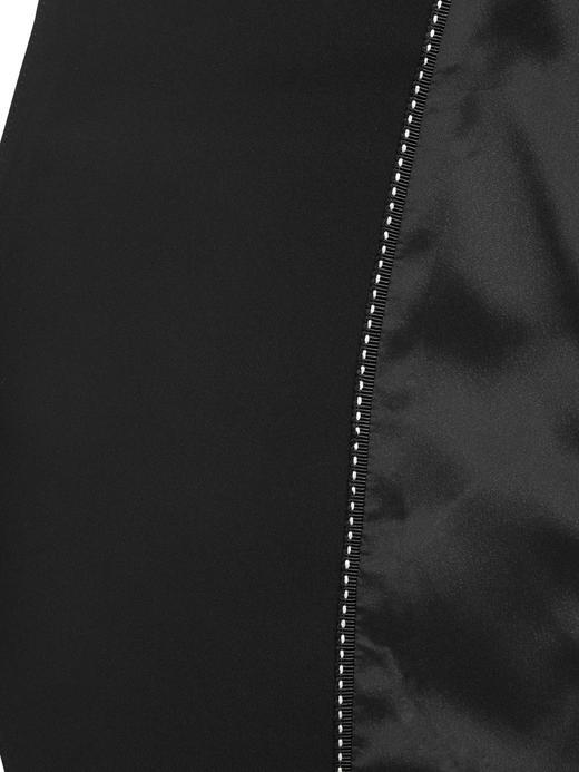 Kadın Siyah Yakasız Blazer Ceket