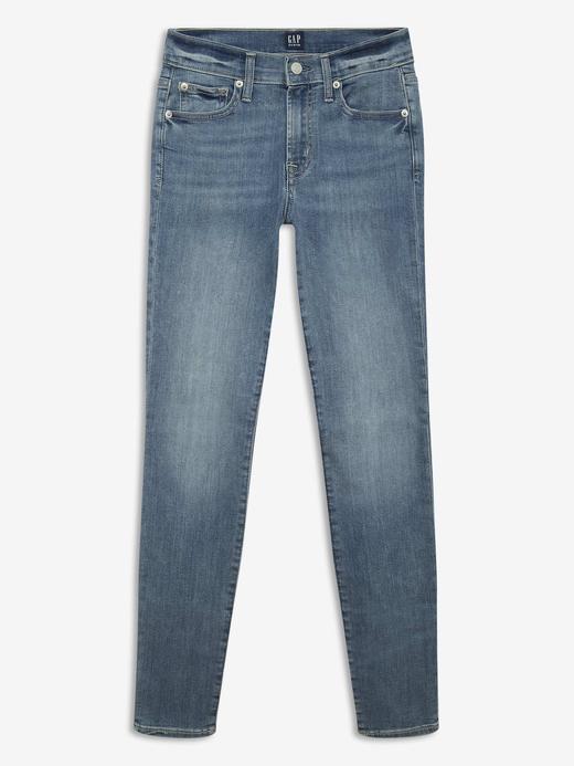 Kadın Mavi True Skinny Ankle Jean Pantolon