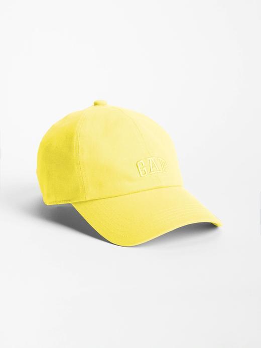 Kadın Sarı Gap Logo Beyzbol Şapkası