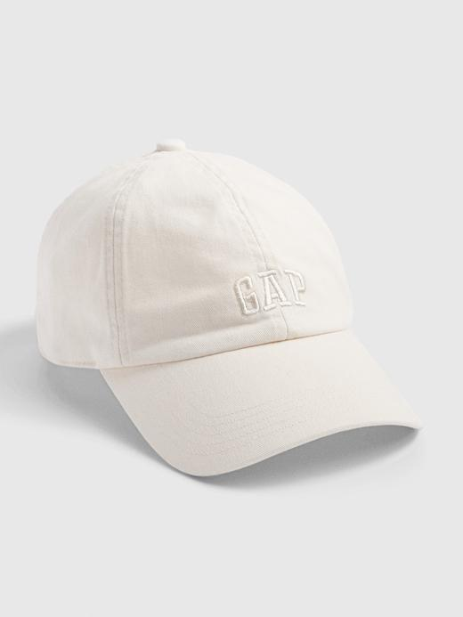 Erkek Beyaz Gap Logo Beyzbol Şapkası