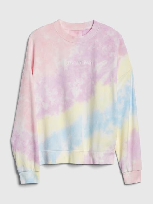 Kadın Pembe Gap Logo Pullover Sweatshirt
