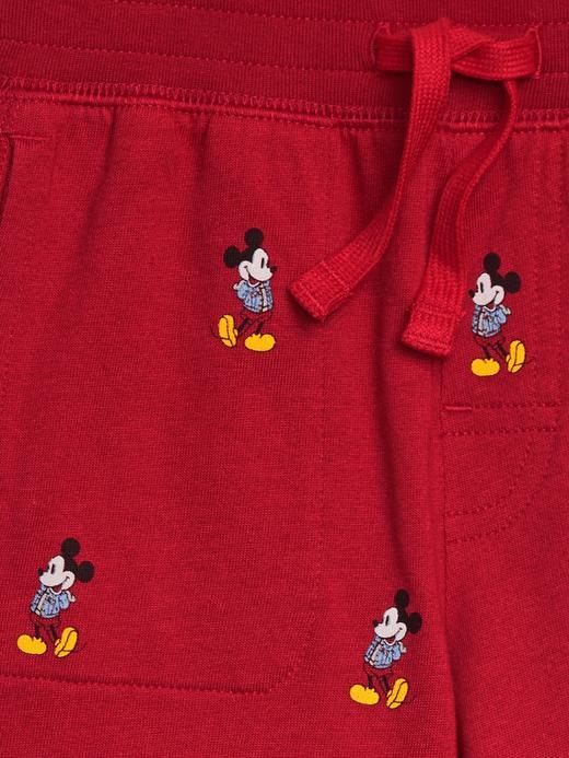 Erkek Bebek Kırmızı Disney Mickey Mouse Şort
