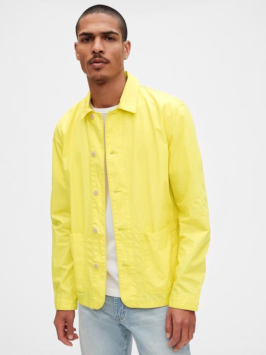 Erkek Sarı Chore Ceket
