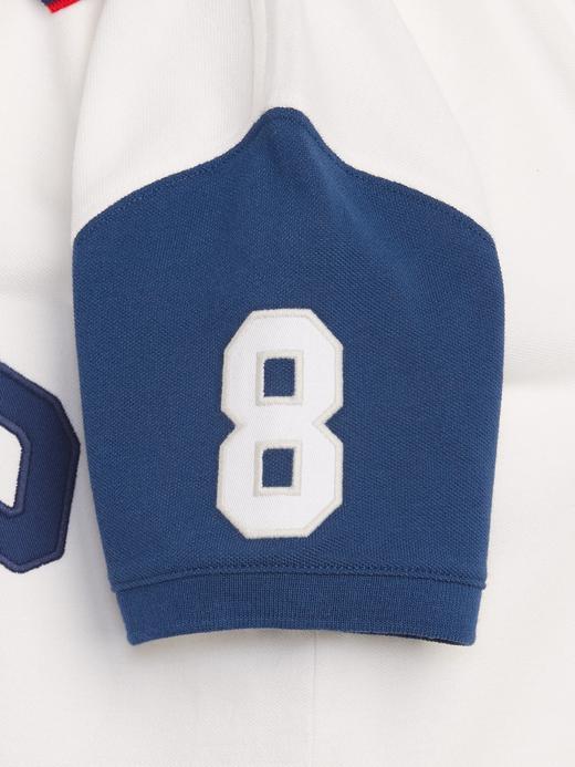 Erkek Çocuk Mavi Gap Logo Pique Polo Yaka T-Shirt