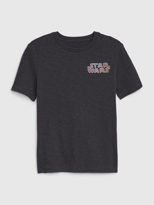 Erkek Çocuk Gri Star Wars™ Grafik T-Shirt