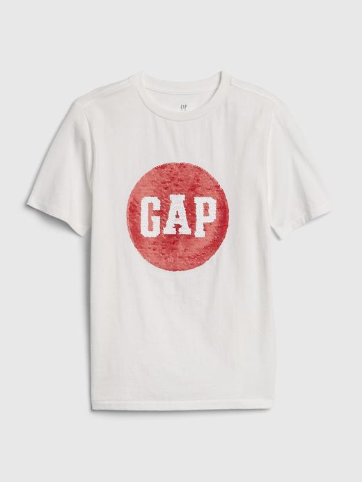 Erkek Çocuk Beyaz Pullu Kısa Kollu T-Shirt
