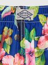 Erkek Bebek Mavi Çiçek Desenli Mayo