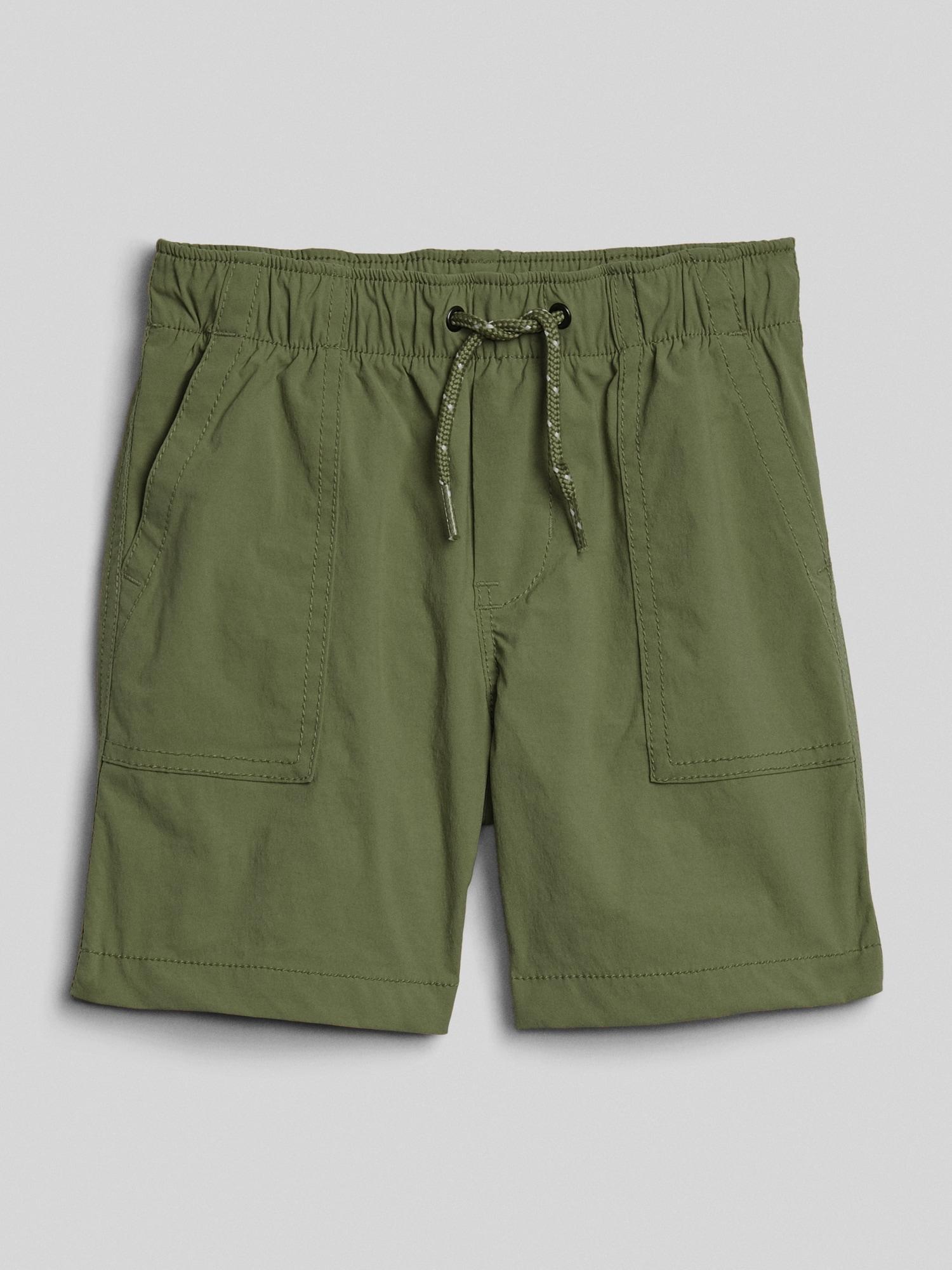 GAP Yeşil QuickDry Pull-On Şort