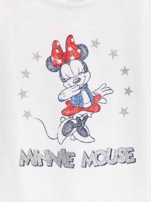 Kız Bebek Pembe Disney Minnie Mouse Fırfırlı Atlet
