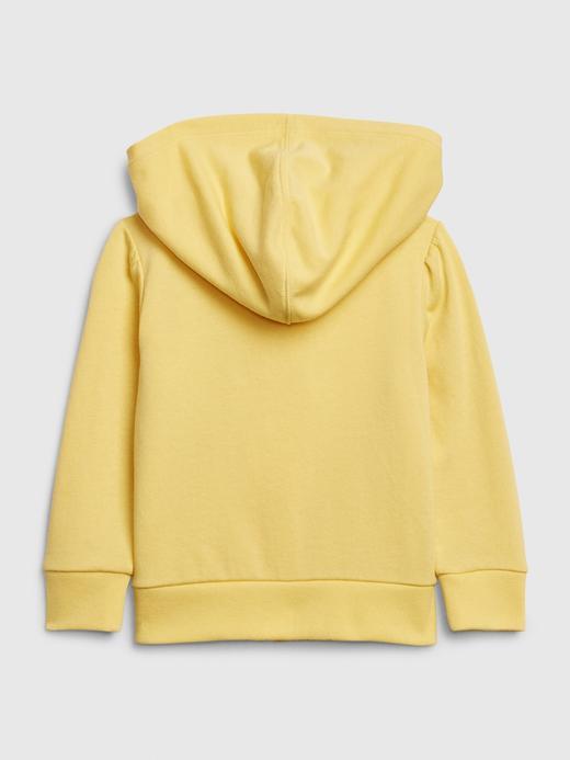 Kız Bebek Sarı Gap Logo Kapüşonlu Sweatshirt