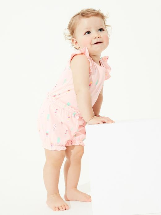 Kız Bebek Pembe Balon Şort