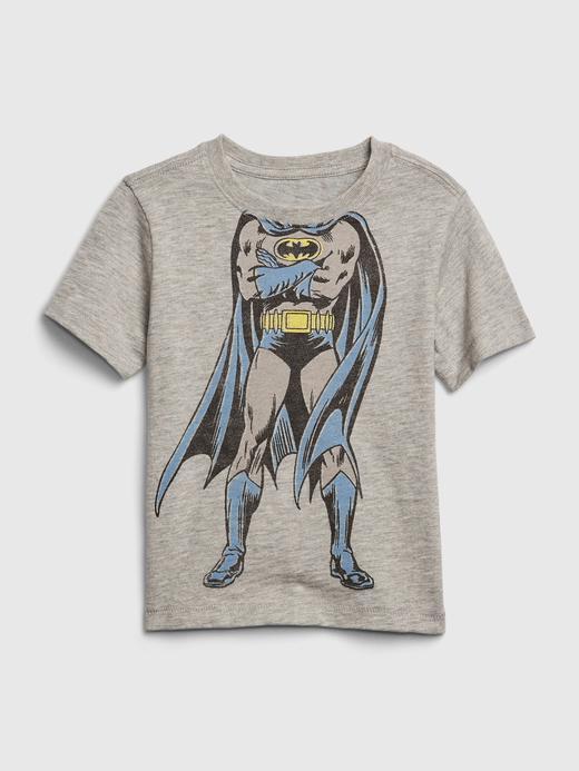 Erkek Bebek Gri DC ™ Grafik Desenli T-Shirt