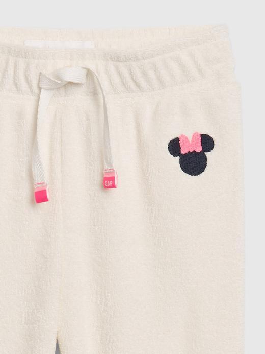 Kız Bebek Bej Disney Minnie Mouse Eşofman Altı