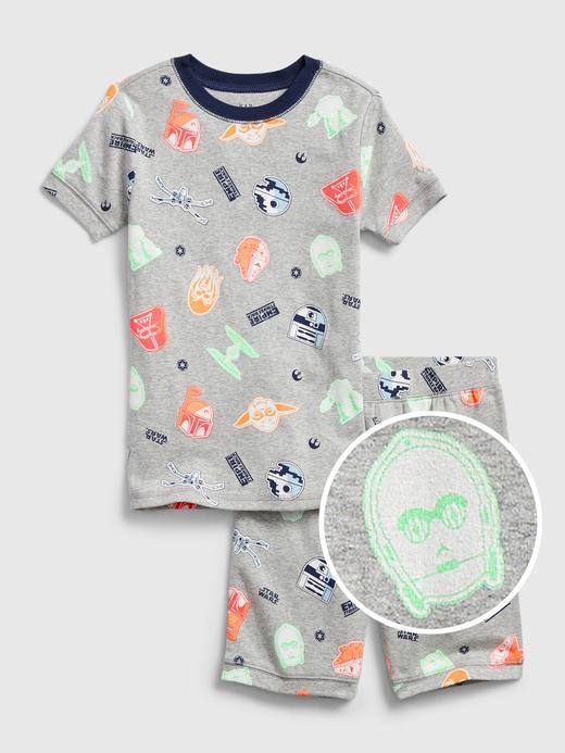 Erkek Çocuk Gri Star Wars™ Grafik Pijama Takımı