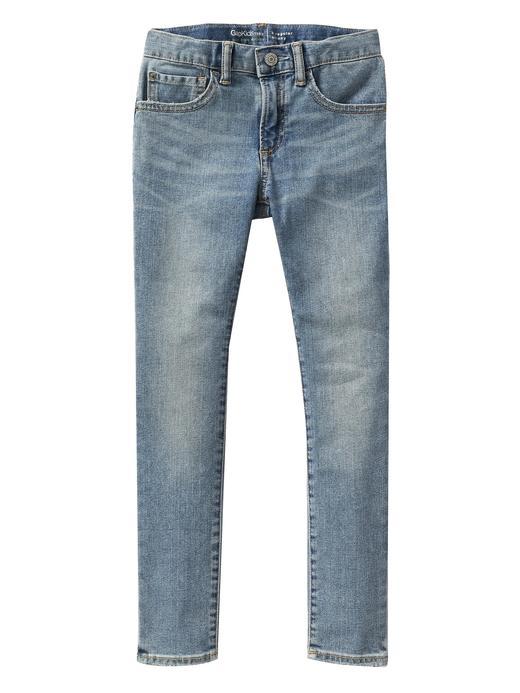 Erkek Çocuk Mavi Skinny Fit Jean Pantolon
