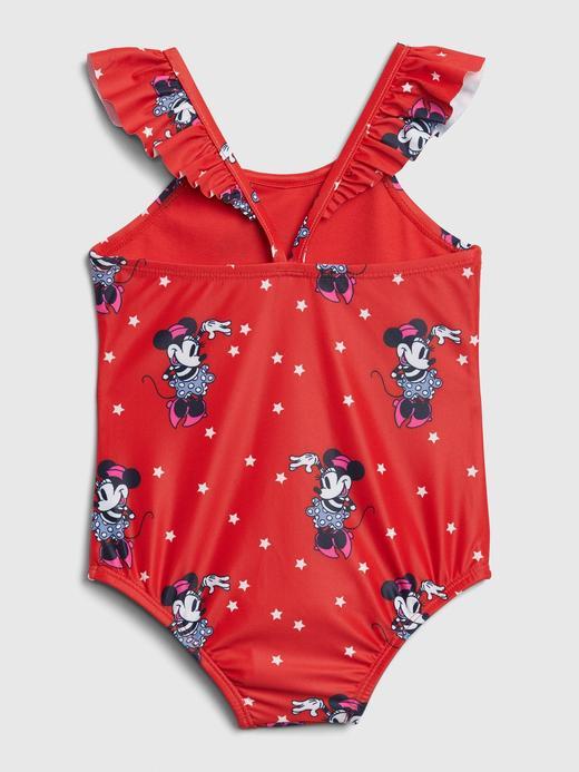 Kız Bebek Kırmızı Disney Minnie Mouse Mayo