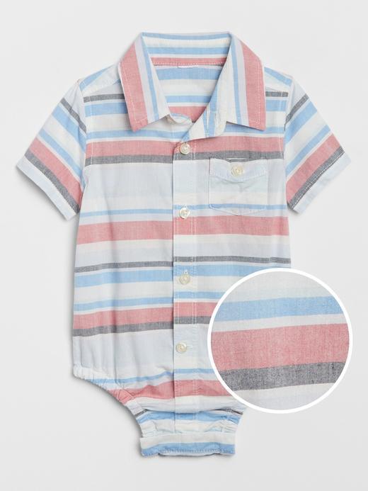 Erkek Bebek Çok renkli Kısa Kollu Body