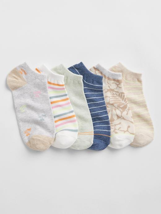 Kadın Bej 6'lı Ankle Çorap Seti