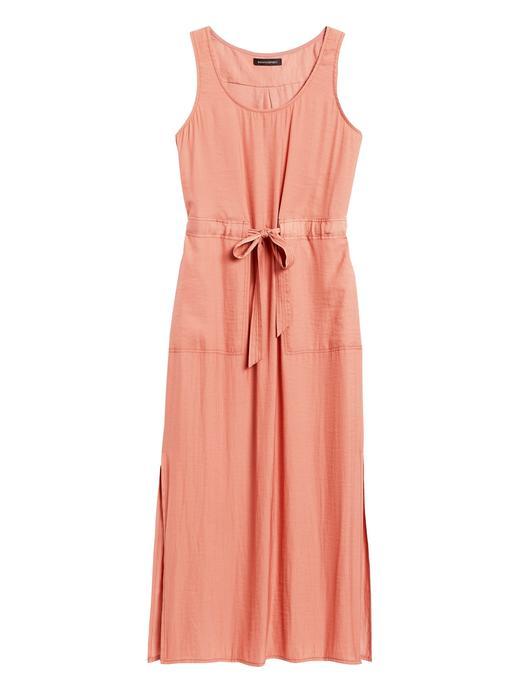 Kadın Pembe Utility Maxi Elbise