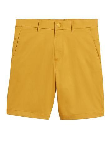 Erkek Sarı Aiden Slim Core Temp Şort