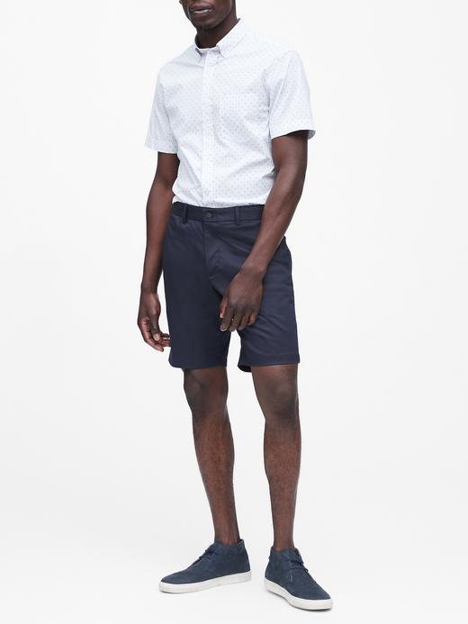Erkek Pembe Aiden Slim Core Temp Şort