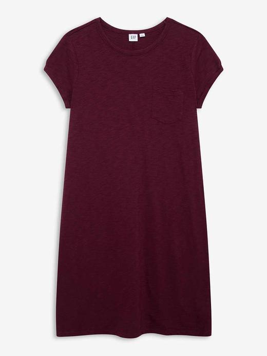 Kadın Kırmızı Kısa Kollu Elbise