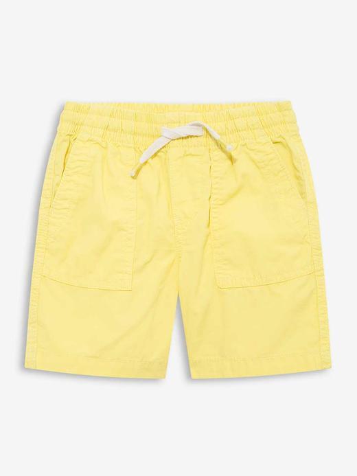 Erkek Bebek Sarı Pull-On Şort