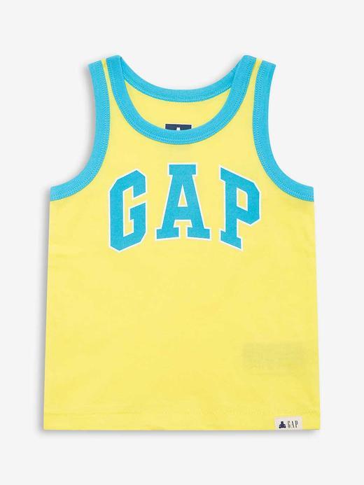 Erkek Bebek Sarı Gap Logo Atlet