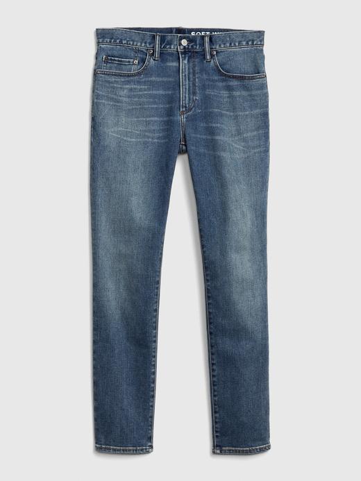Erkek Mavi GapFlex Soft Wear Skinny Jean Pantolon