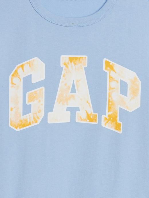 Erkek Çocuk Turuncu Grafik Kısa Kollu T-Shirt
