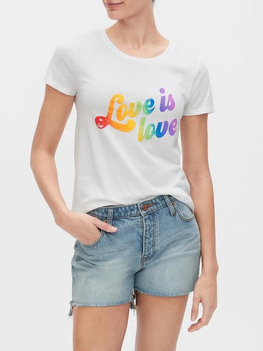 Kadın Beyaz Grafik Kısa Kollu T-Shirt