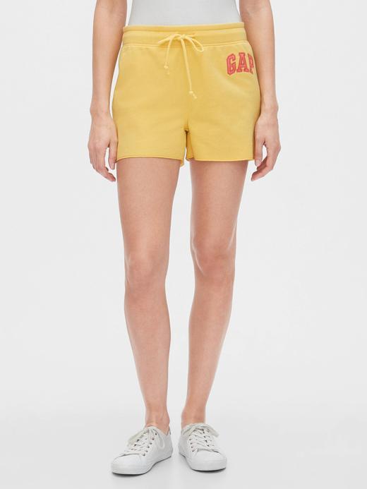 Kadın Sarı Gap Logo Şort