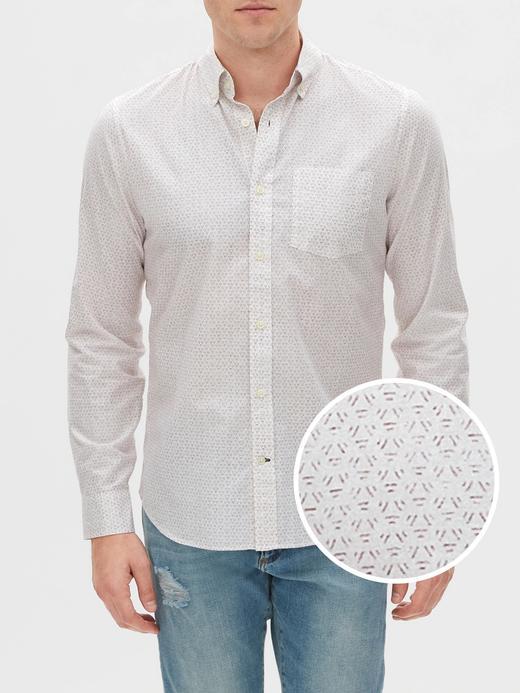 Erkek Beyaz Slim Fit Uzun Kollu Poplin Gömlek