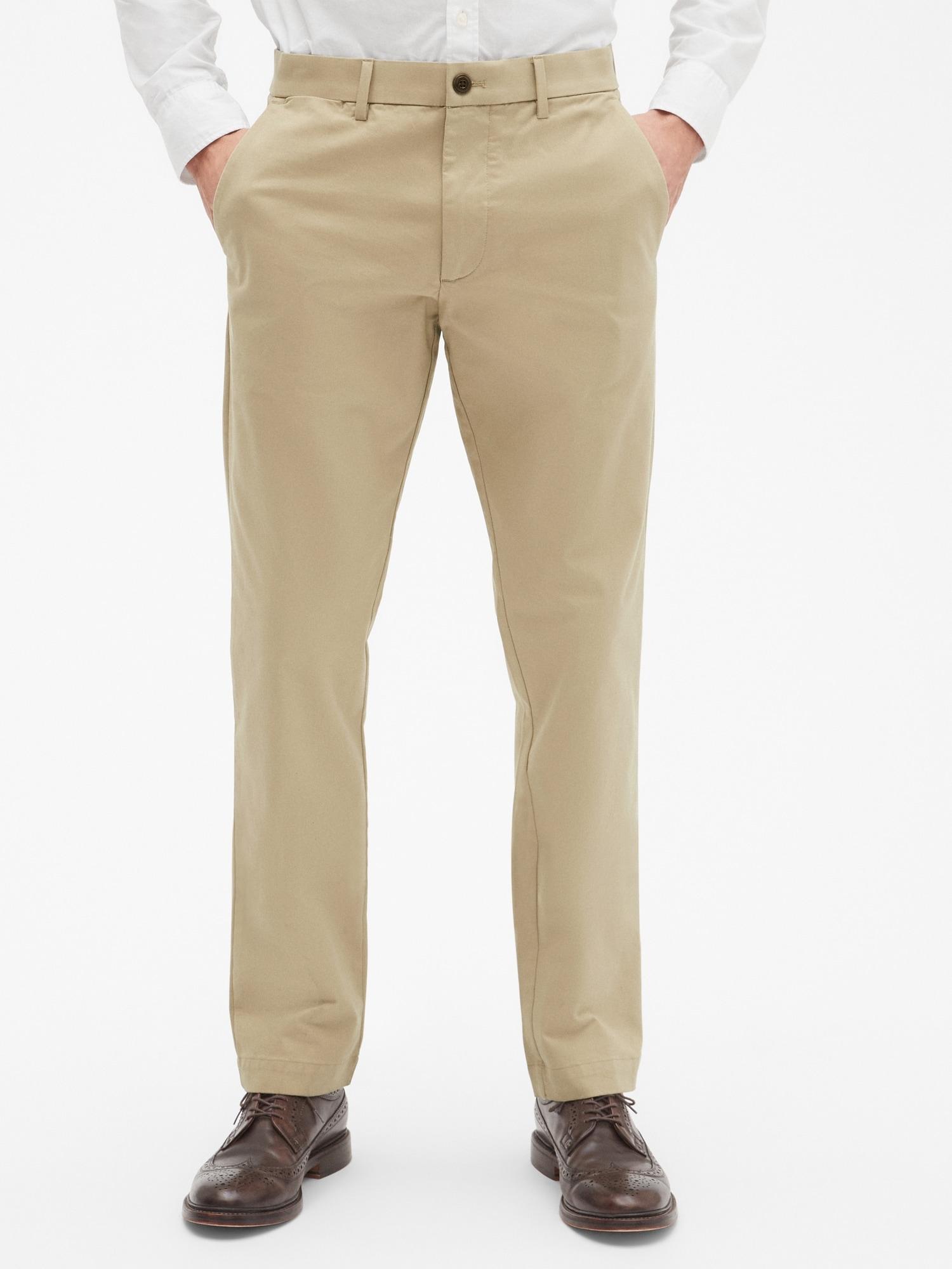 GAP Yeşil Slim Khaki Pantolon