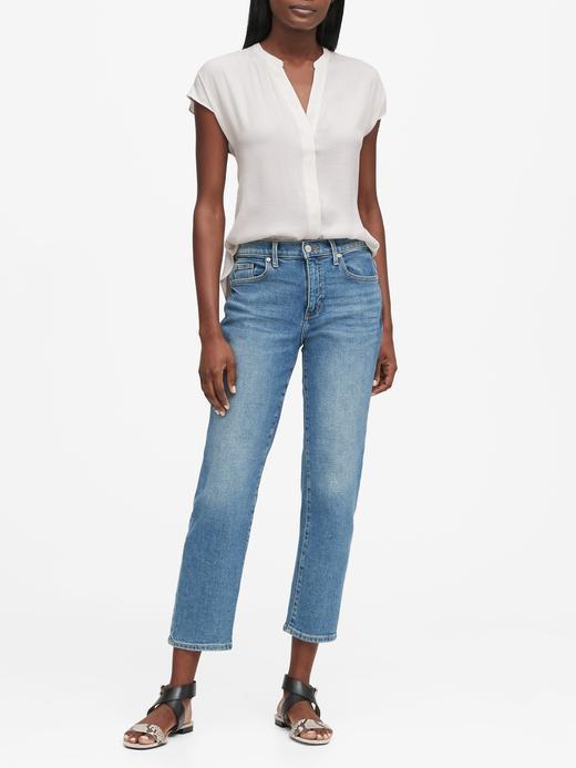 Kadın Beyaz Kısa Kollu Bluz