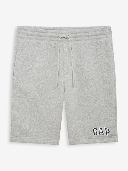 Erkek Gri Gap Logo Şort
