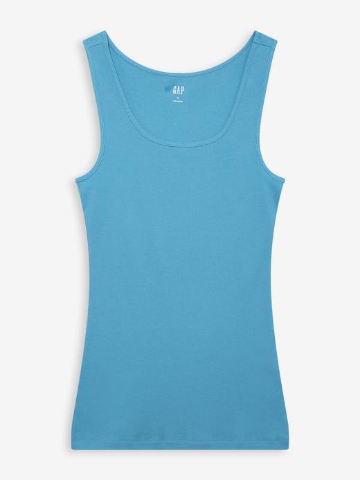 Kadın Mavi Fitilli Atlet