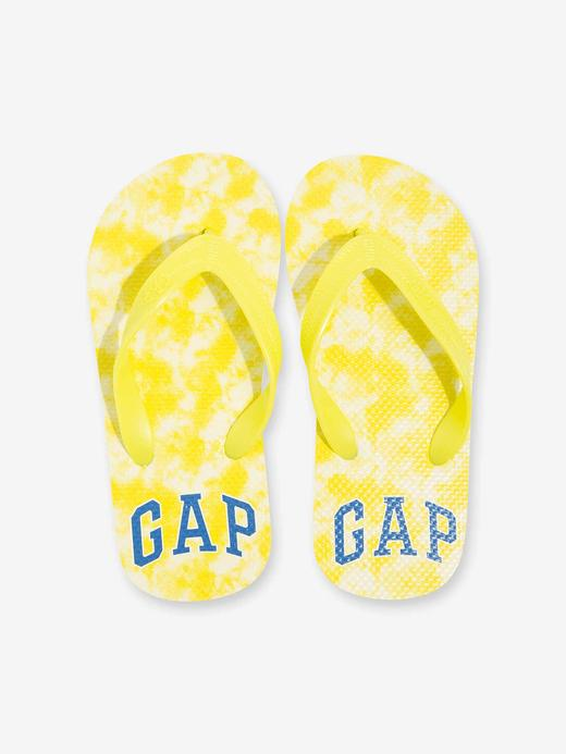 Erkek Çocuk Sarı Gap Logo Parmak Arası Terlik