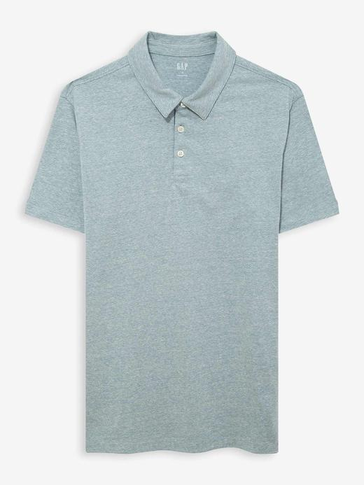 Erkek Yeşil Polo Yaka Jarse T-Shirt