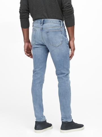 Erkek Mavi Skinny Legacy Jean Pantolon