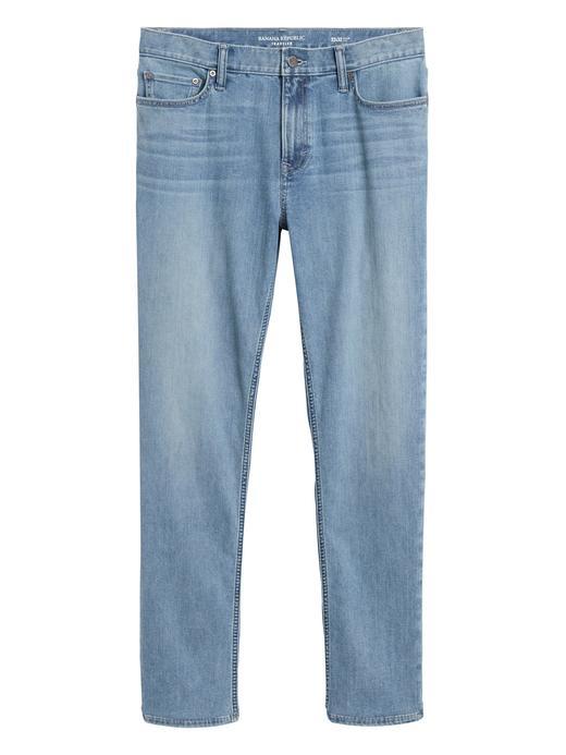 Erkek Mavi Slim Dry Indigo® Traveler Jean Pantolon