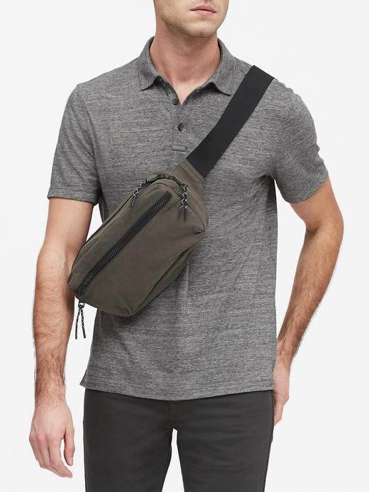 Erkek Gri Vintage Polo Yaka T-Shirt