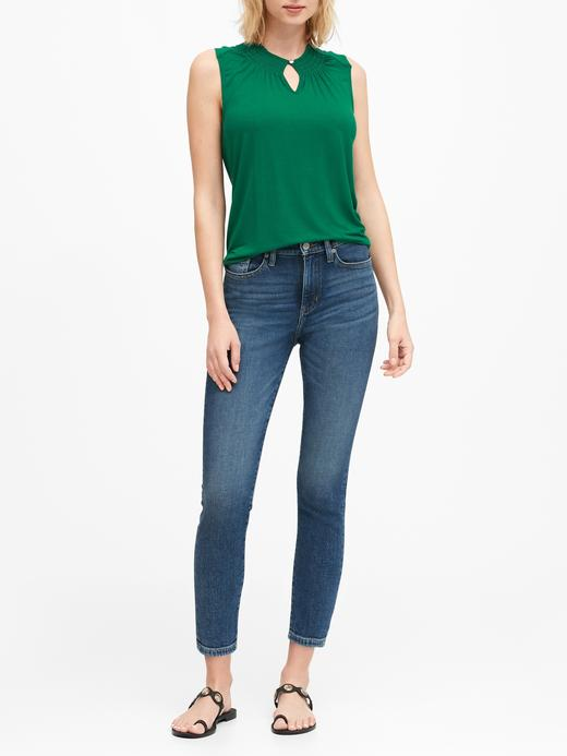 Kadın Yeşil Yumuşak Streç Modal Bluz
