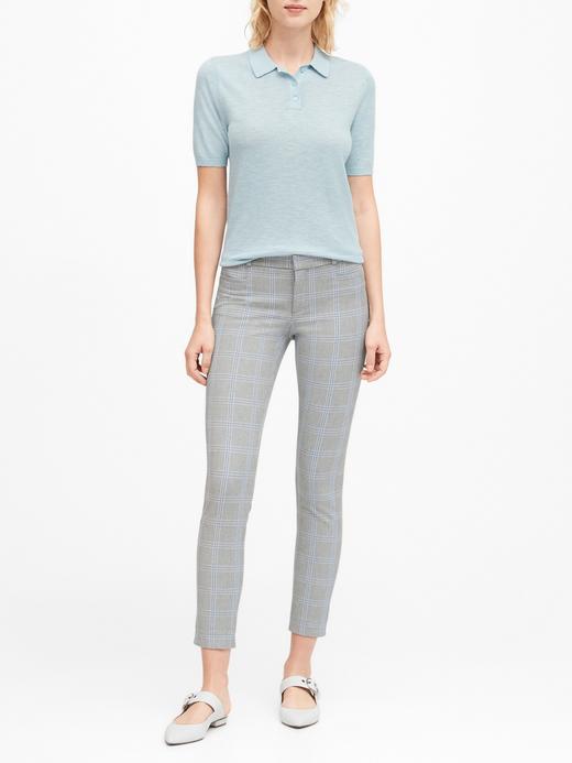 Kadın Mavi Modern Sloan Skinny-Fit Yıkanabilir Pantolon