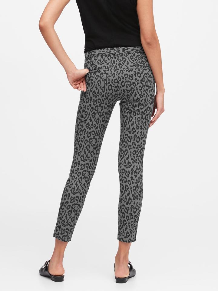 Kadın Siyah Modern Sloan Skinny-Fit Yıkanabilir Pantolon