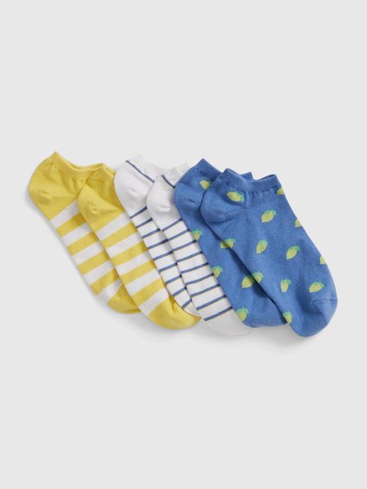 Kadın Mavi 3'lü Soket Çorap Seti