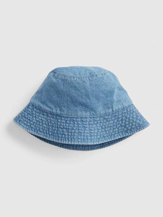 Kadın Mavi Bucket Şapka