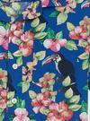 Erkek Çocuk Lacivert Çiçek Desenli Gömlek
