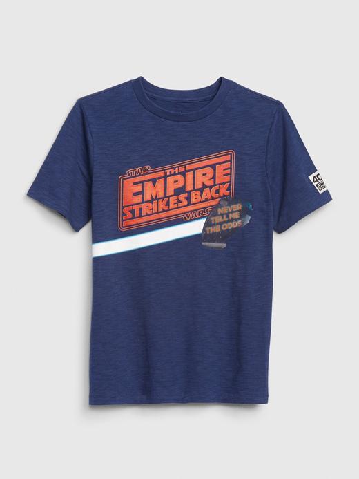 Erkek Çocuk Kırmızı Star Wars ™ Hologram Grafik T-Shirt